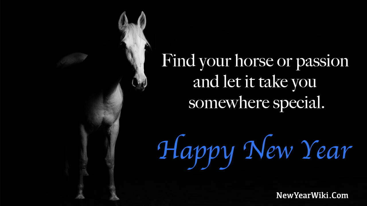 Happy New Year Horse Images