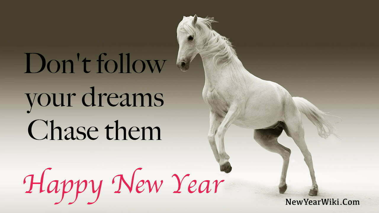 Happy New Year Horse Pictures