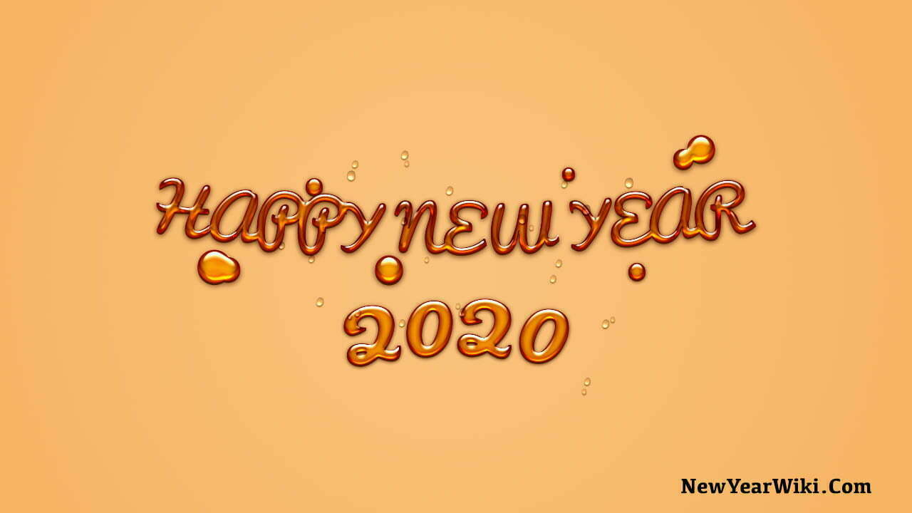 3D Happy New Year Images