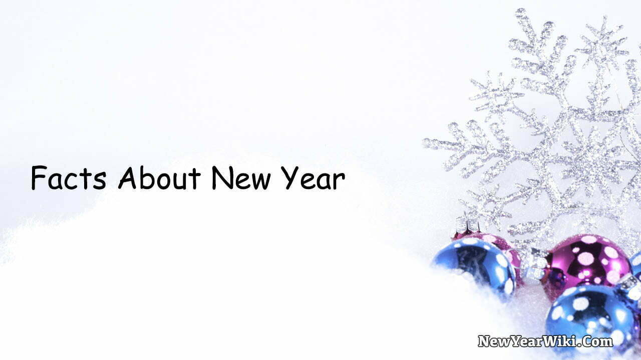 Facts About New Year