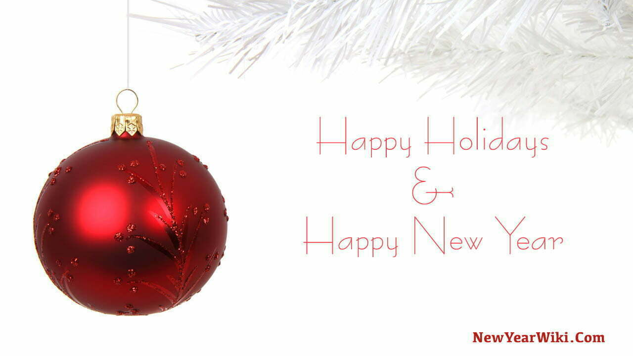 Happy Holidays And Happy New Year Images