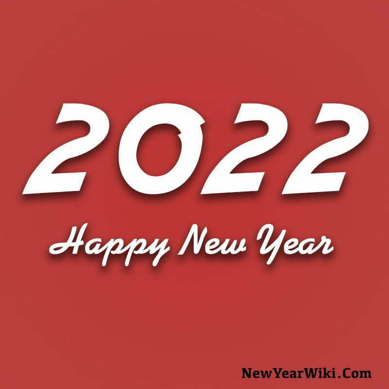 Happy New Year 2022 WhatsApp DP