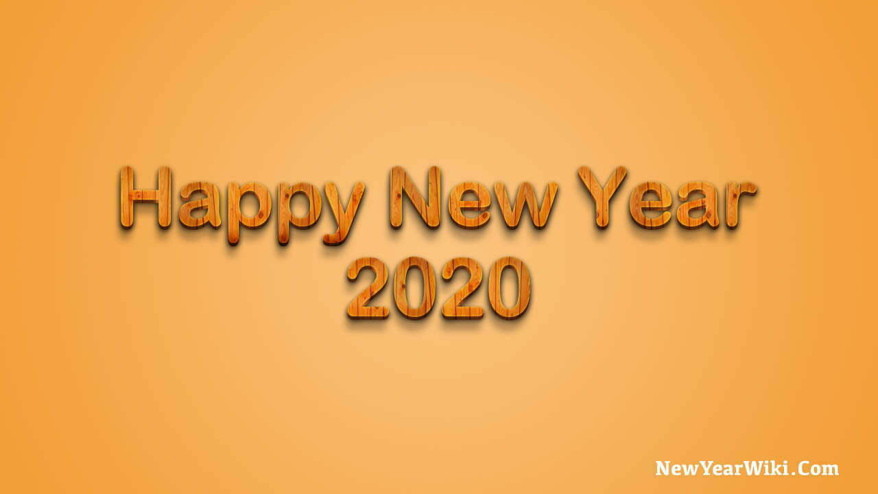 Happy New Year 3D Images