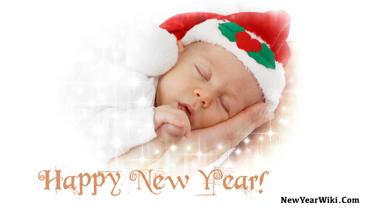 Happy New Year Baby Images