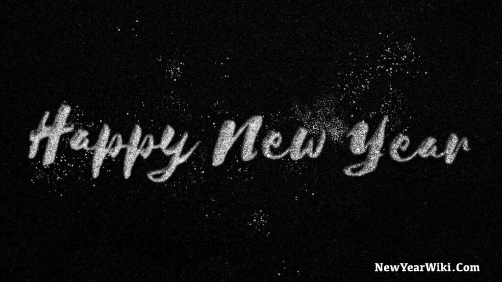 Happy New Year Glitter Images