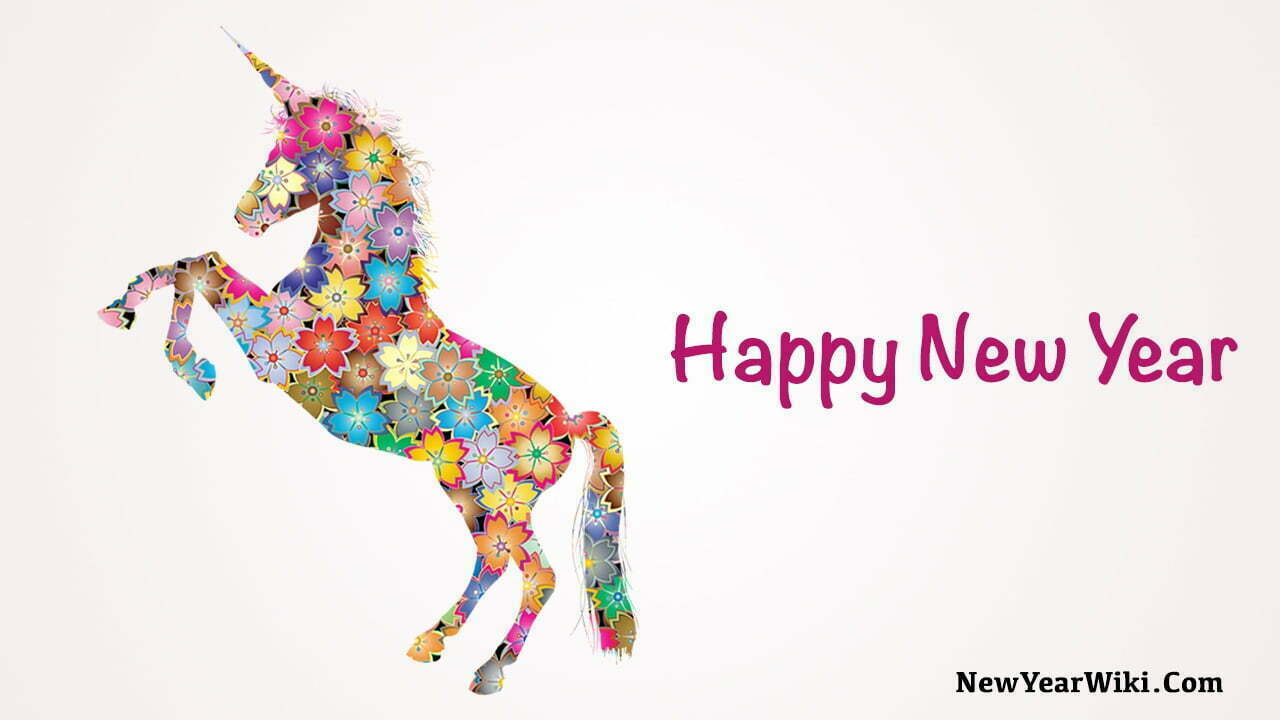 Happy New Year Horse Pic