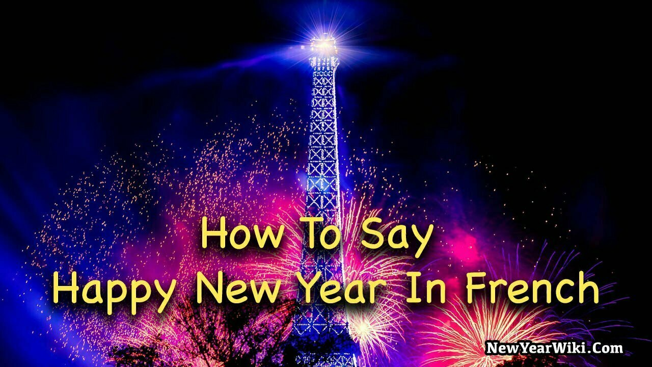 Happy New Year In French