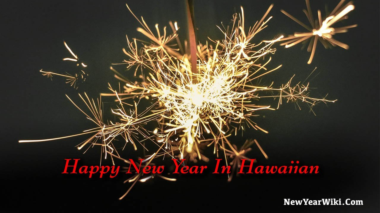 Happy New Year In Hawaiian