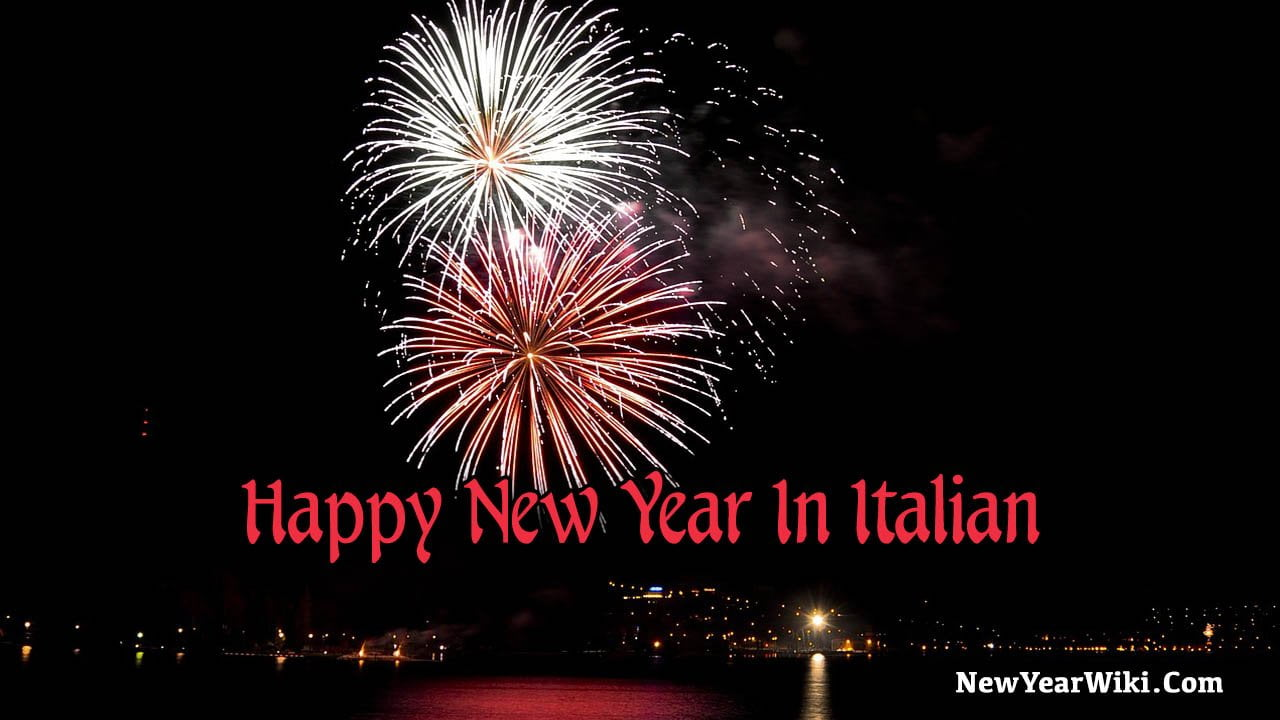 Happy New Year In Italian