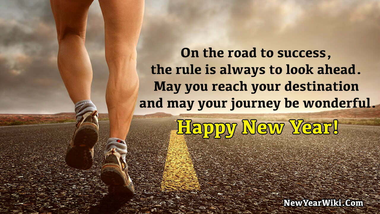 Happy New Year Inspirational Message