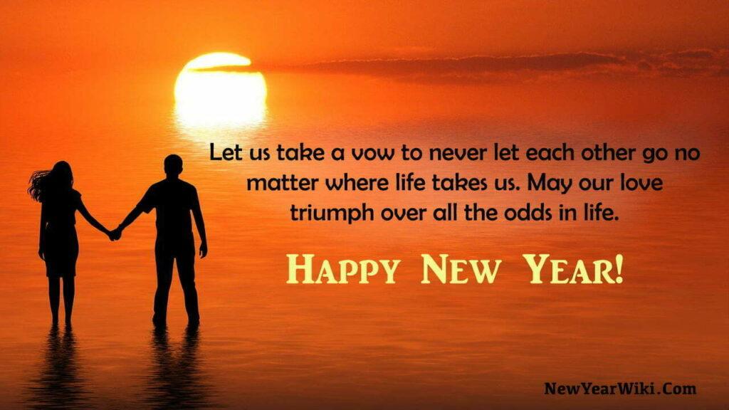 Happy New Year Partner