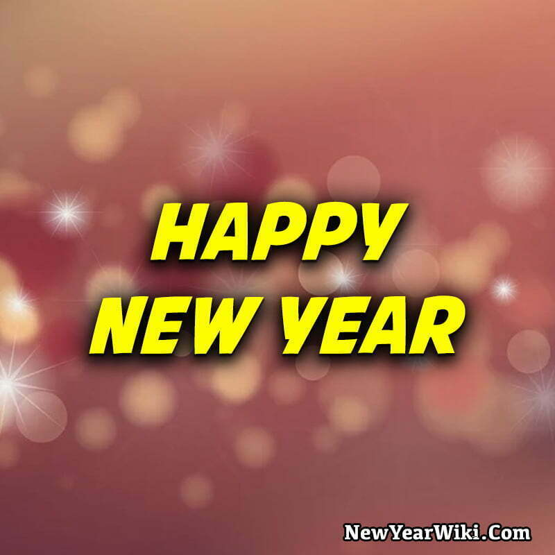 Happy New Year WhatsApp Profile Picture