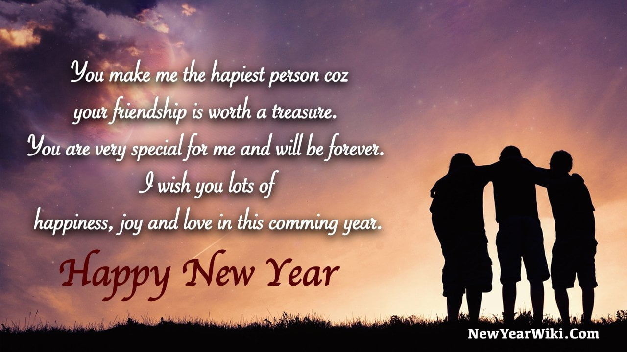 Best Happy New Year Wishes For Friends 2021 New Year Wiki