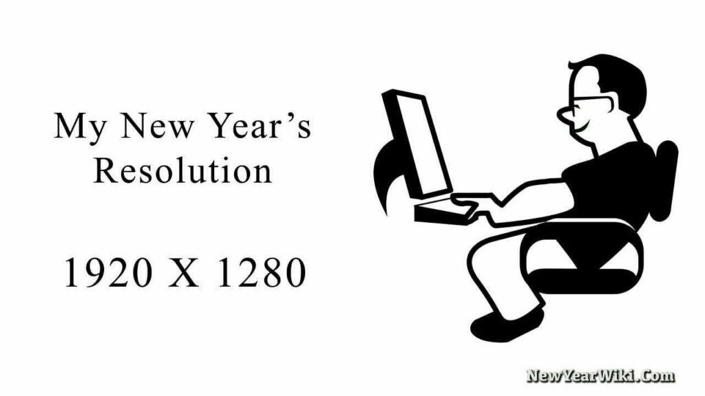 My New Years Resolution Meme
