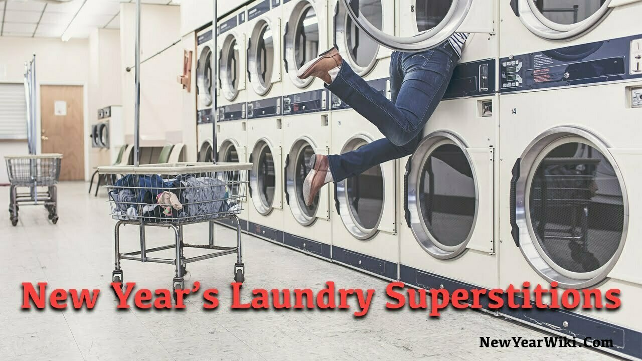 New Year's Laundry Superstitions