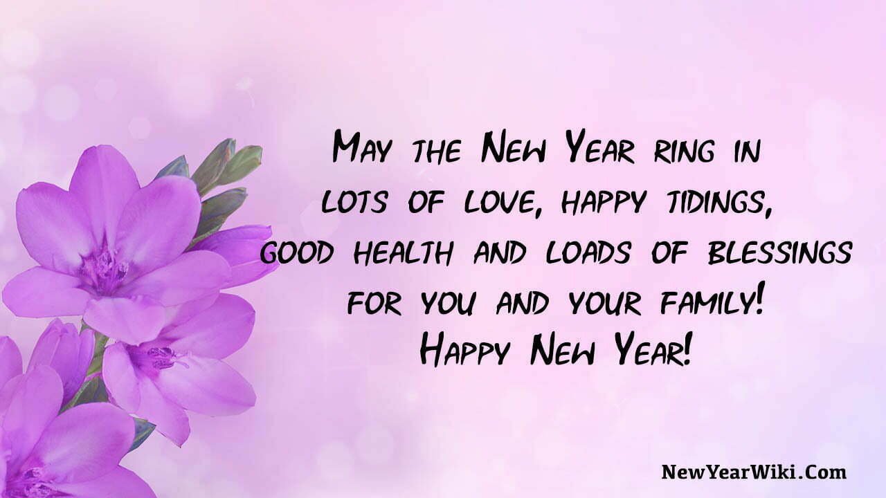 New Year Blessing Messages