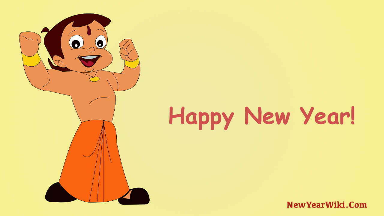New Year Cartoon Pictures