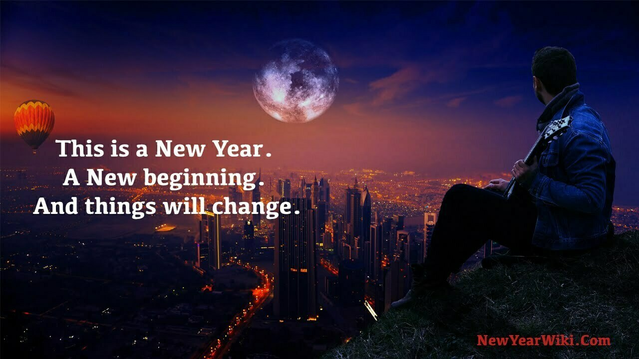 New Year Change Quotes