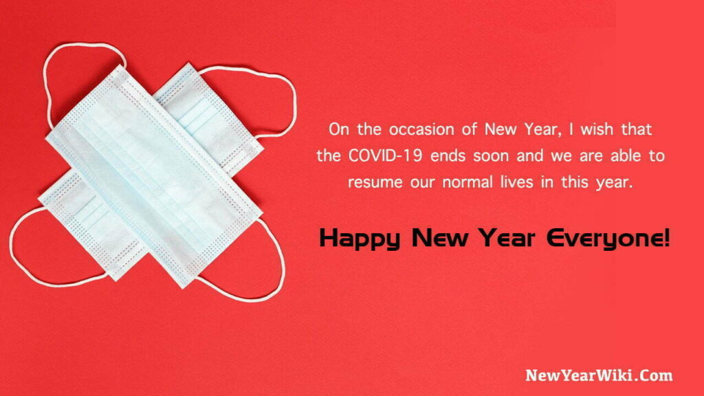 New Year Covid Wishes