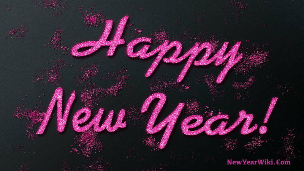 New Year Glitter Images