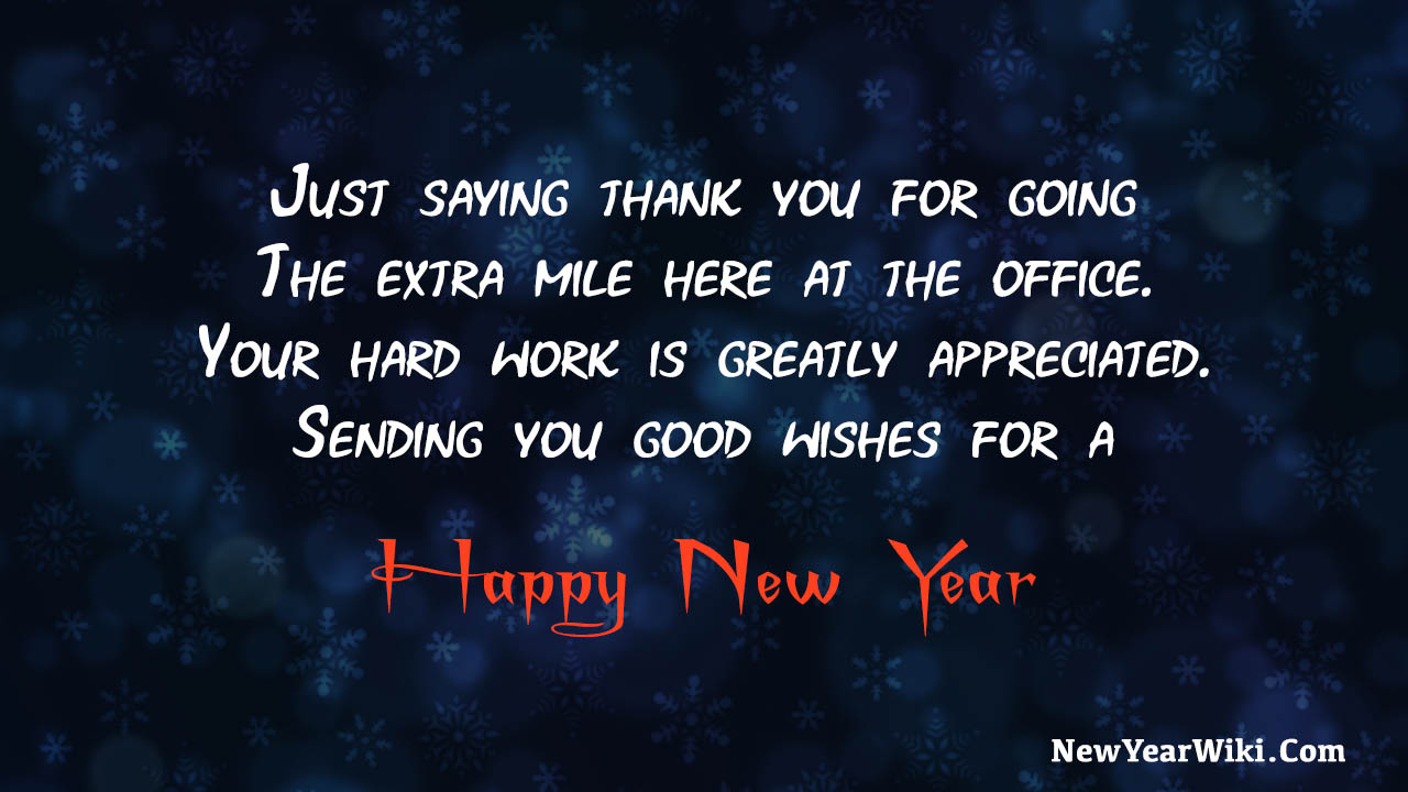 New Year Message To Employees From CEO