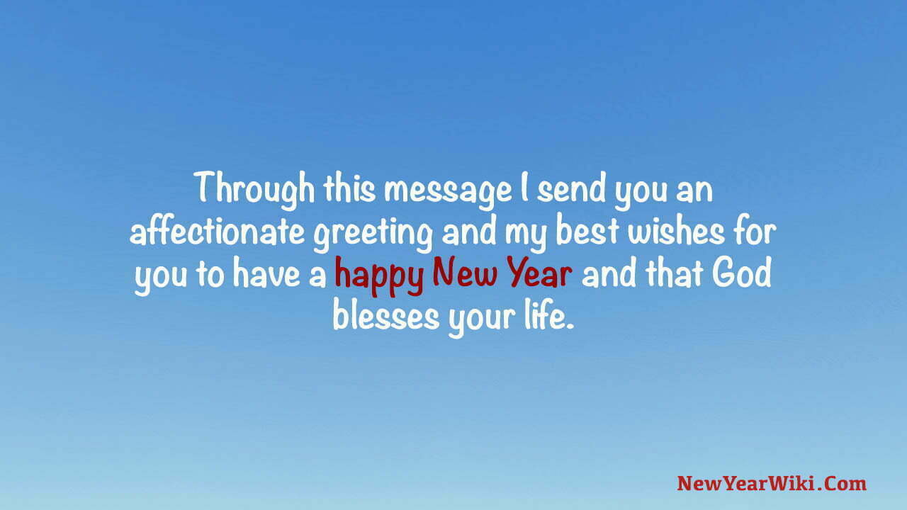 New Year Messages For Facebook