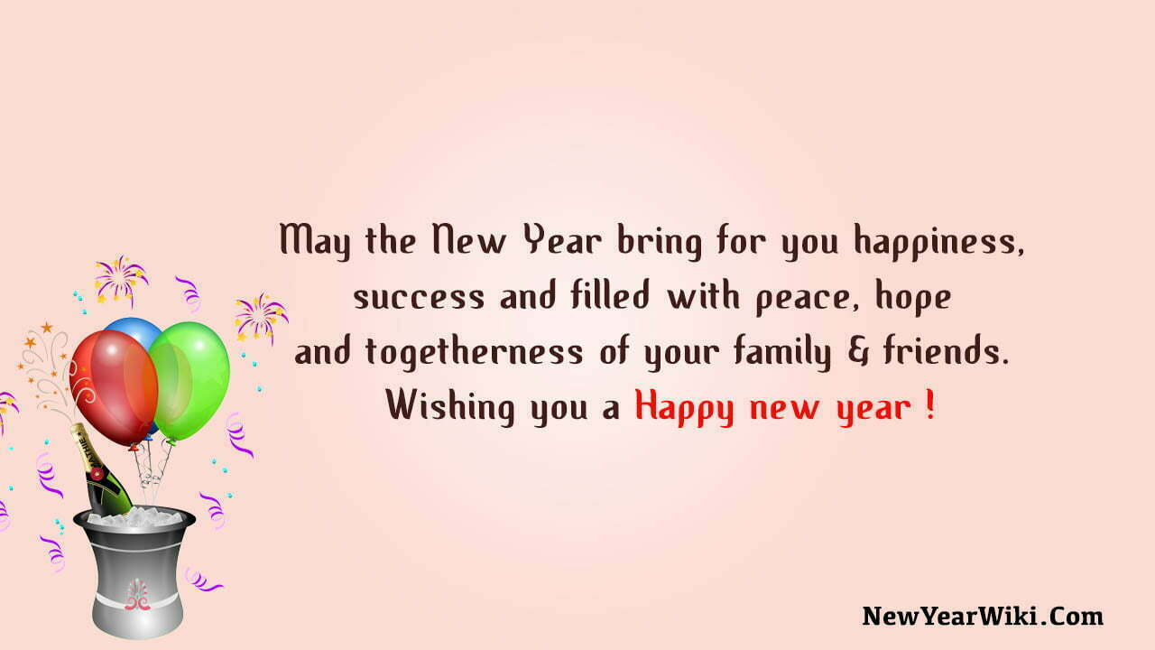 New Year Messages For Friends And Family