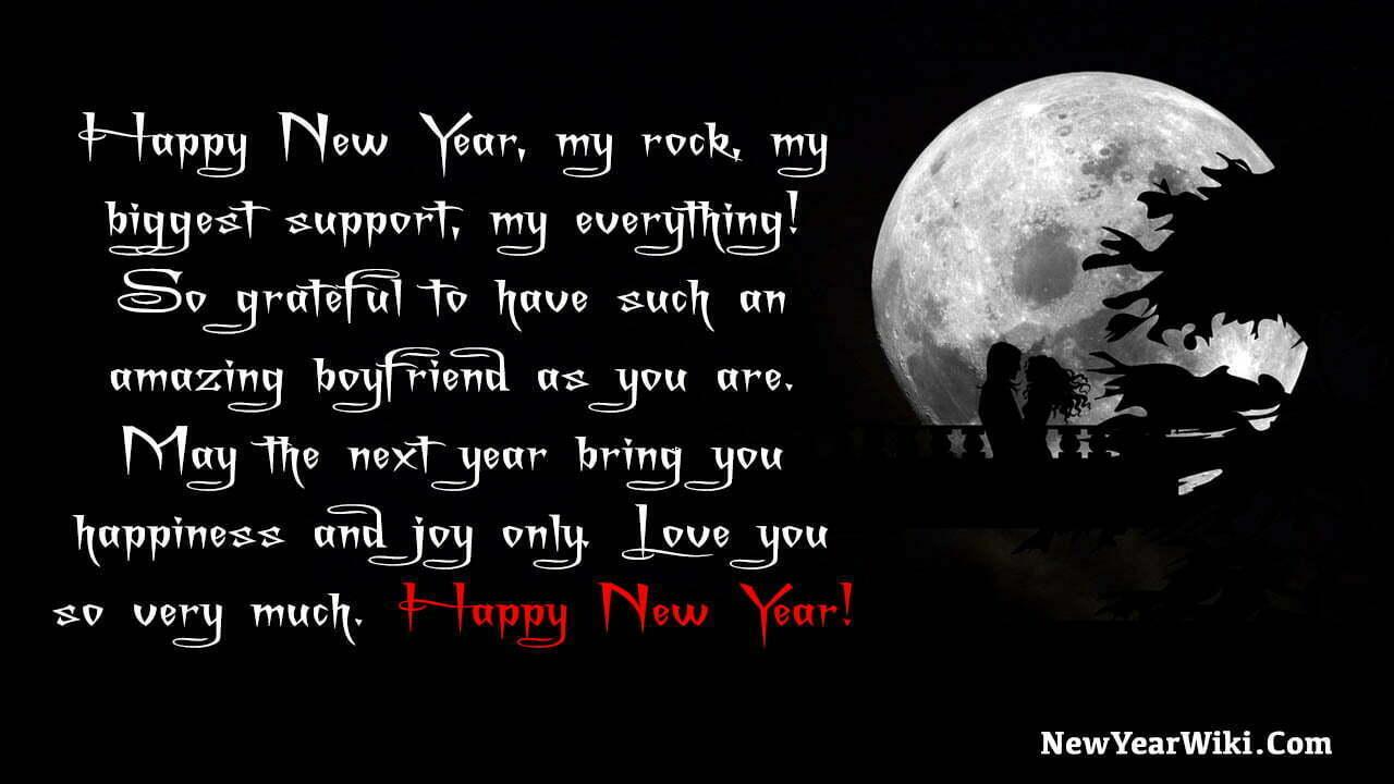New Year Messages To Boyfriend