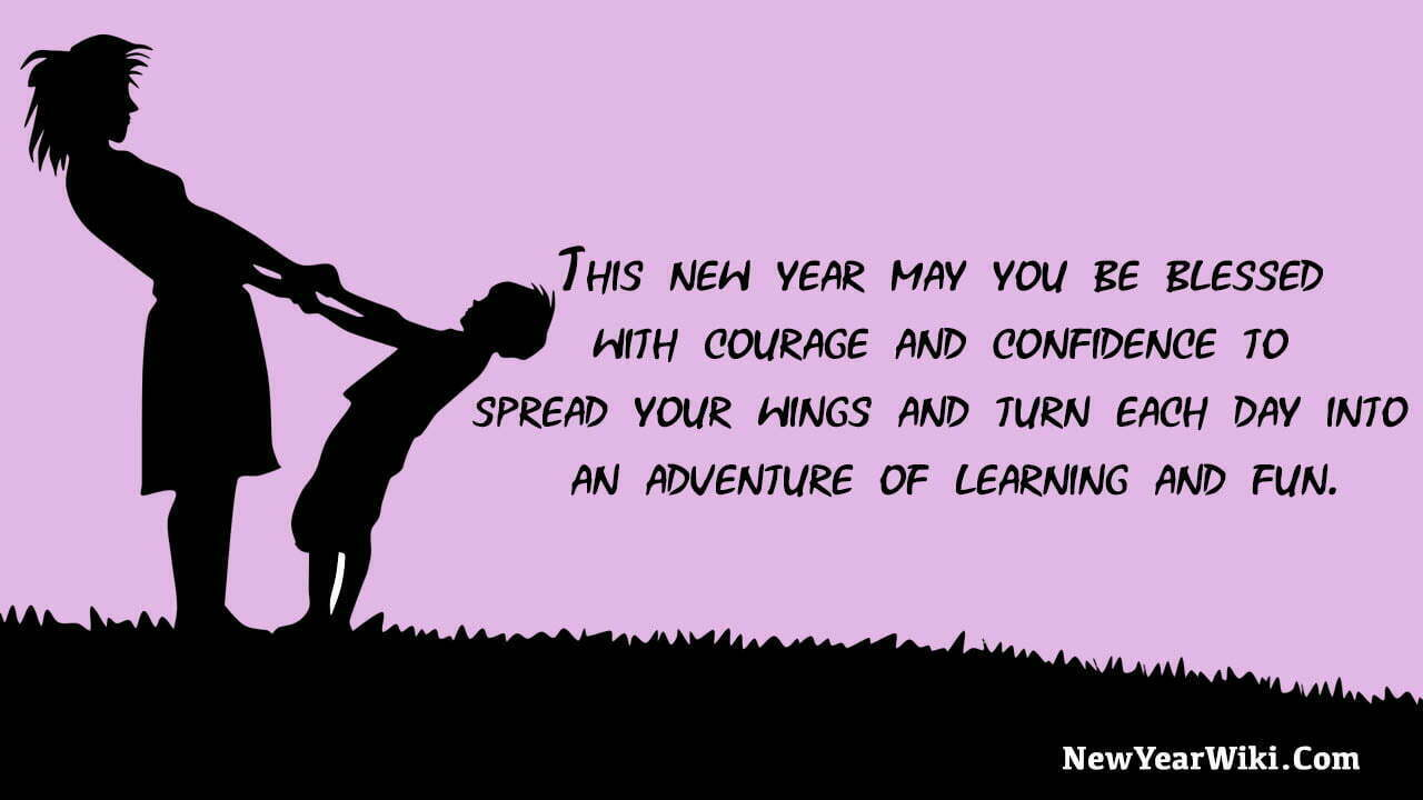 New Year Quotes For Kids