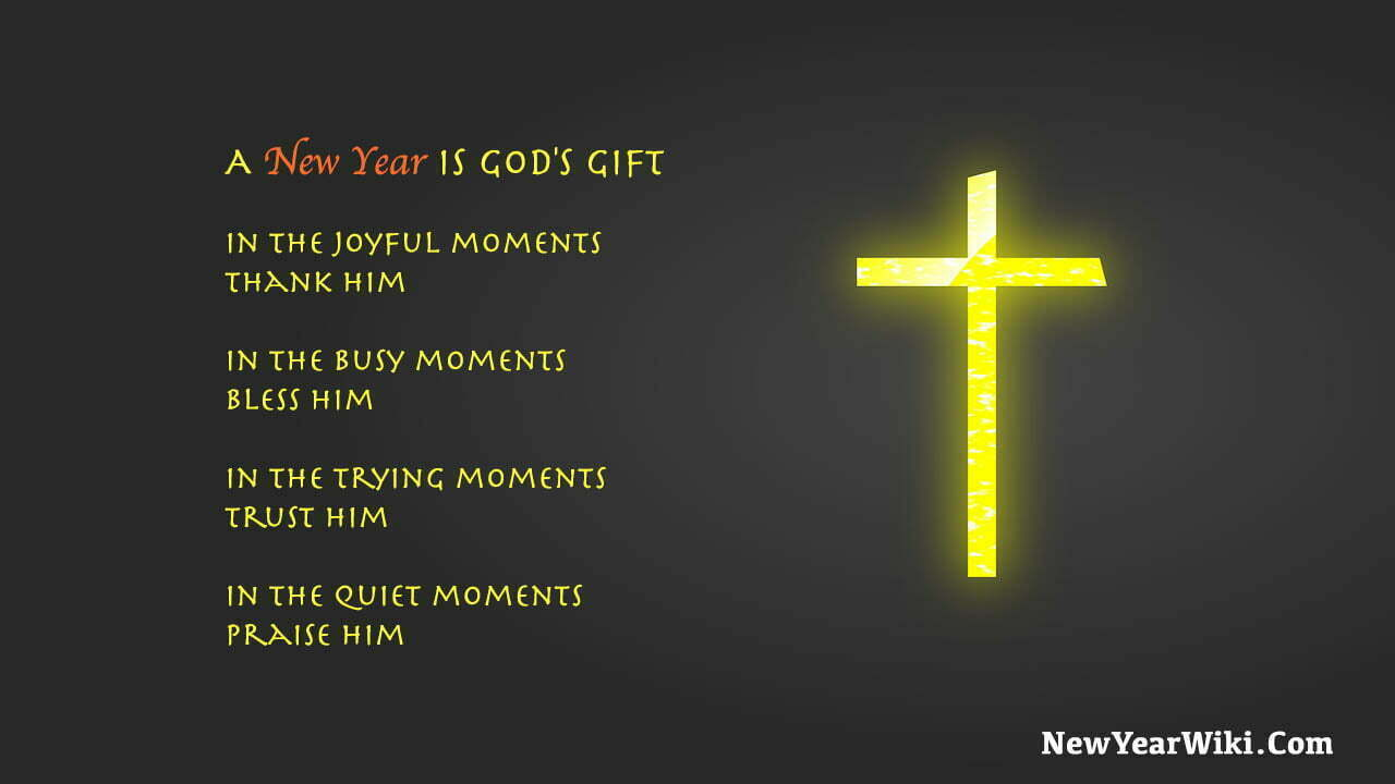New Year Religious Quotes