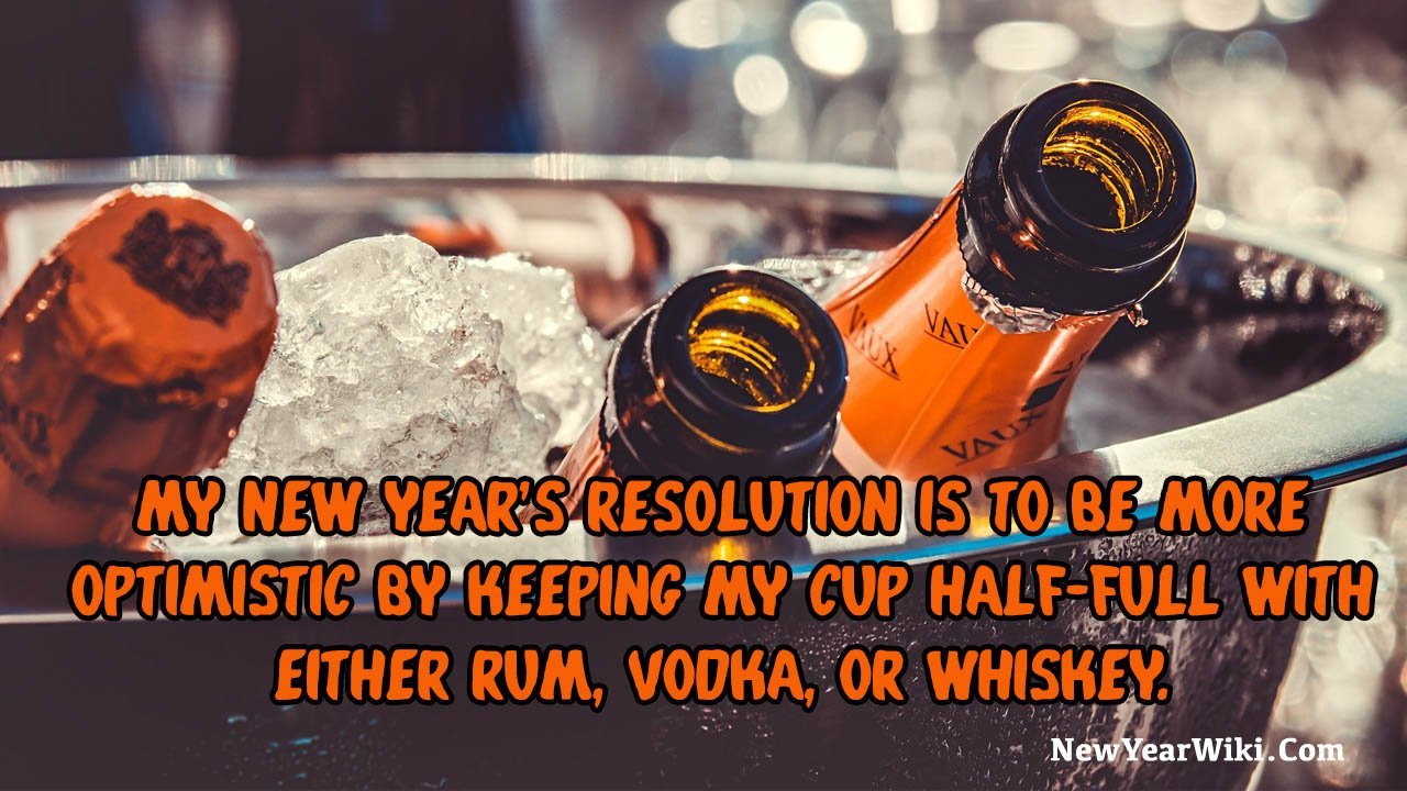 New Year Resolutions Jokes