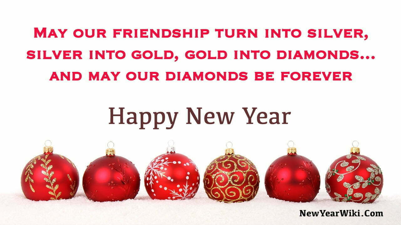 New Year Wishes For Best Friend