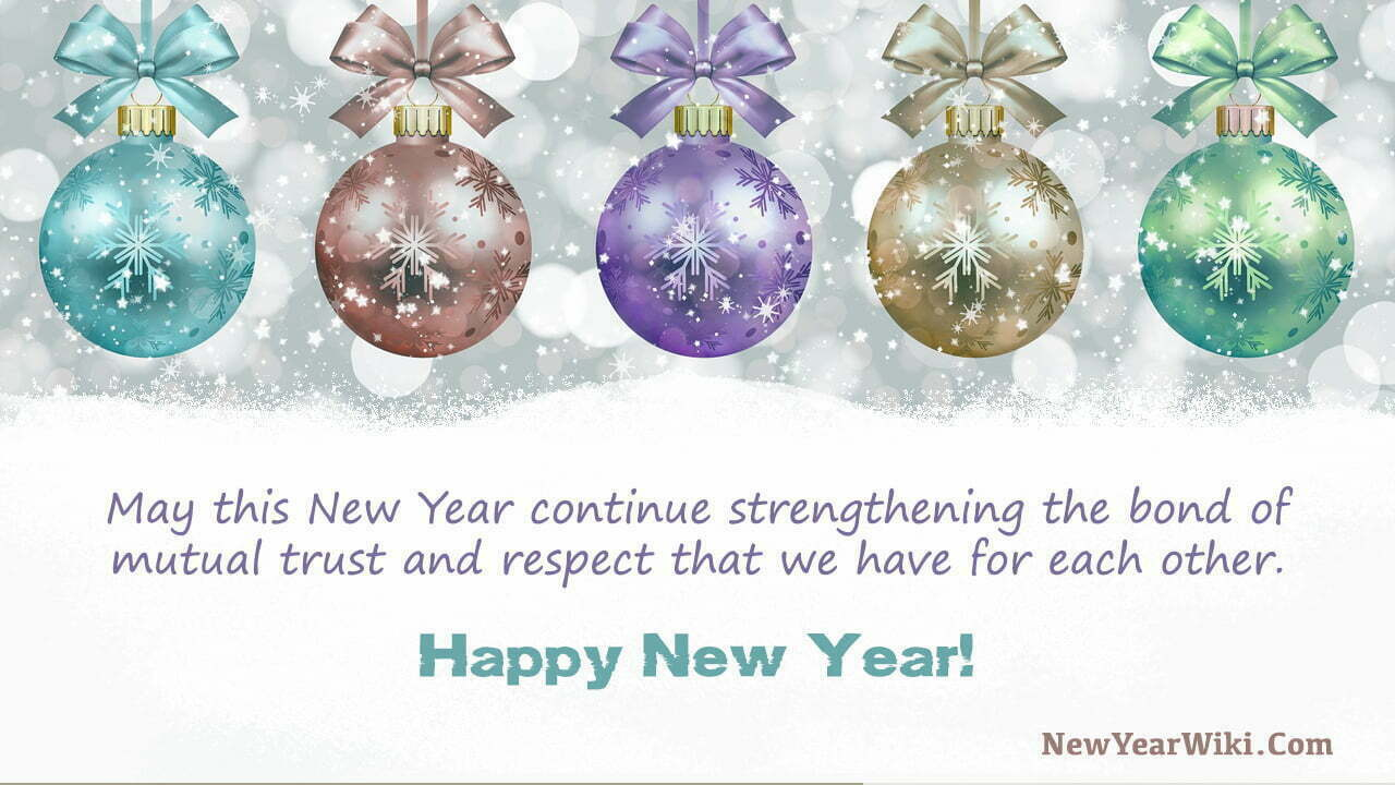 New Year Wishes for Clients