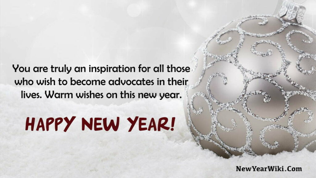 New Year Wishes for Lawyers