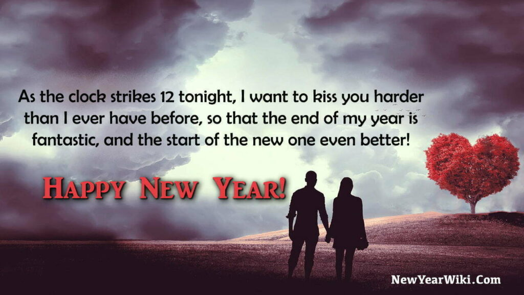 New Year Wishes for Life Partner