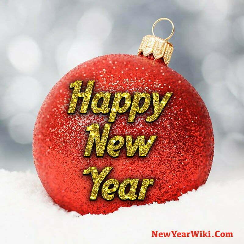 WhatsApp DP for Happy New Year