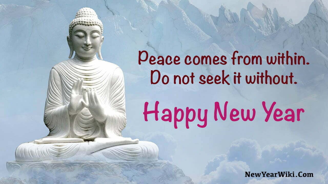 Buddha New Year Quotes