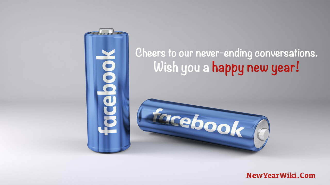 Happy New Year Messages For Facebook Friends
